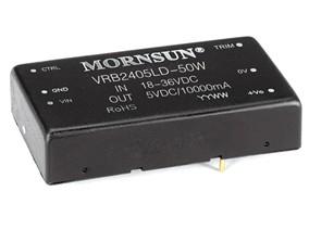 金升阳VRB-LD-50W宽电压输入DCDC产品