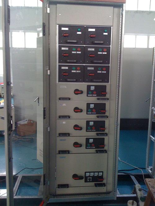 PLC控制柜如何接线,柜内包含元器件和元器件的电路图如何表示