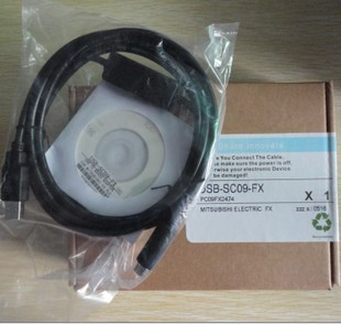 三菱plc编程电缆.usb-sc09-fx