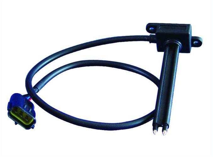 水位传感器输出一个高电位驱动汽车配套电路的蜂鸣器响或led指示灯亮