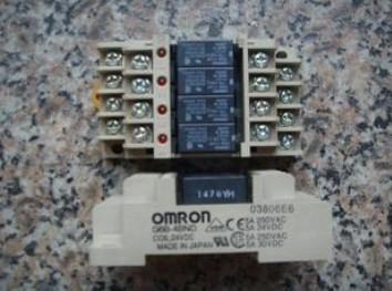 omron继电器24v接线图说明