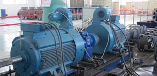 采用电机对拖电能回馈法的变频器温升试验
