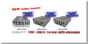 科洛理思推出新工业嵌入式计算机JetBox 8193/8194/8195