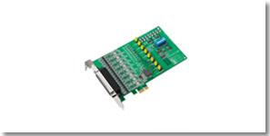 研华推出4款全新8端口PCIE串口通讯卡