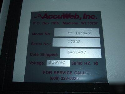 ACCUWEB纠偏控制器