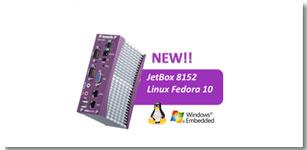 科洛理思JetBox 8152工业通讯计算机新支持Linux Fedora 10