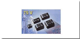 Vishay用75V高压产品扩充固钽SMD片式电容器