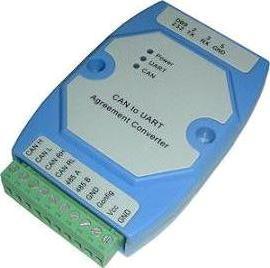 业之科电子 YZ1102 CAN至RS232/485隔离转换器