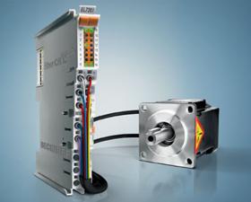 Beckhoff 直接连接伺服电机和旋转变压器的12mm EtherCAT端子模块