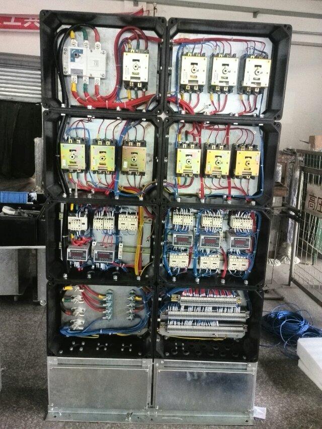 防爆断路器启动器内部结构,防爆控制箱控制器内部配件