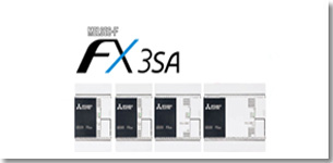 三菱电机微型可编程控制器FX3SA粉墨登场