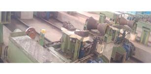 钢管自动对中系统 在焊管精整区辊道设计中的应用