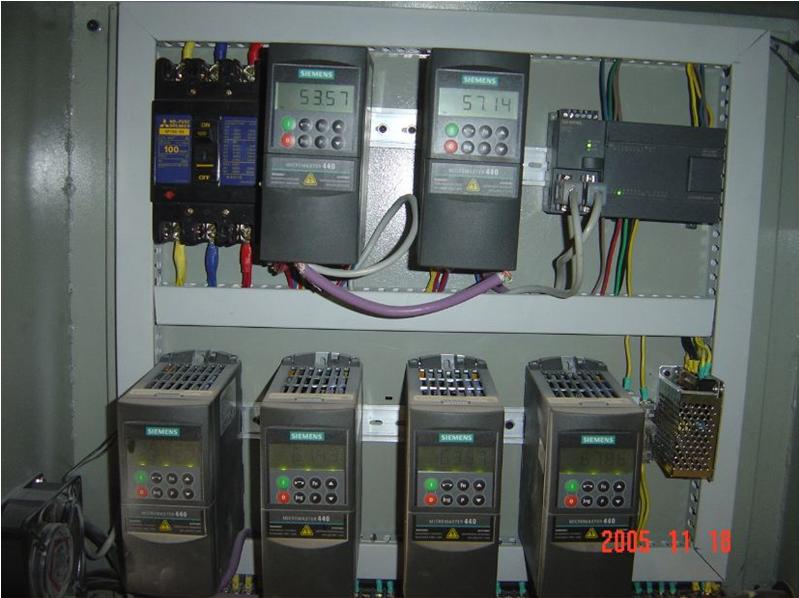 西门子plc编程变频器通信控制 plc自动控制系统