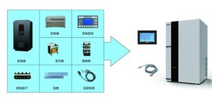 四方TS2600螺杆空压机单变频电控驱动系统在螺杆空压机上的应用