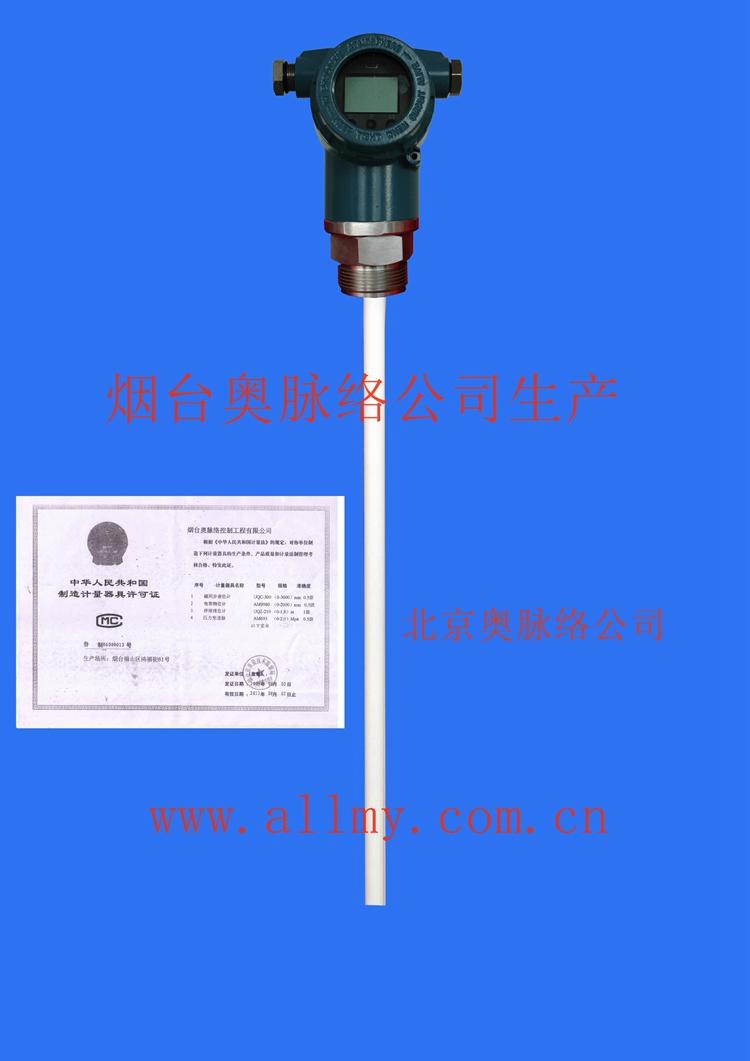 电容式液位计/汽包液位计/汽水分离器液位计