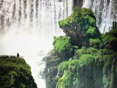 【休闲】美丽的瀑布