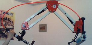 永宏工业自动化折臂攻丝机整体解决方案