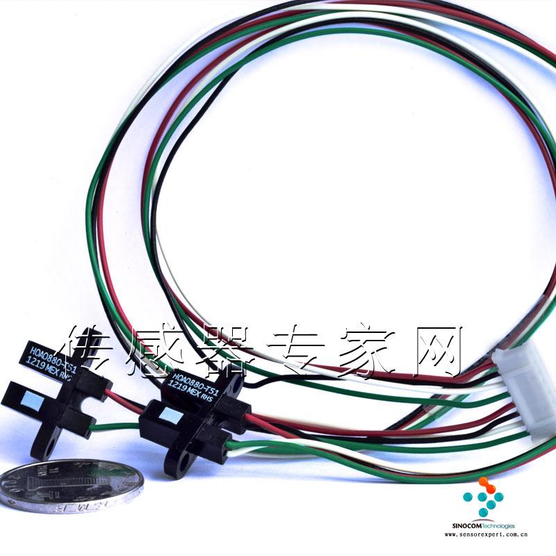霍尼韦尔槽型红外光电传感器hoa0880