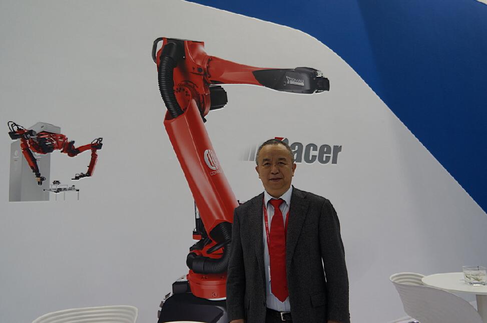 2015深圳机械展柯马(上海)工程有限公司采访视频