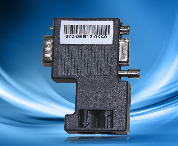 奥越信  90°总线连接器(带编程口)