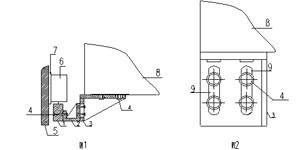 一种用于机床位移检测的读数头调整支架