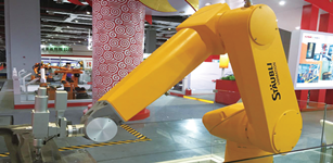 风采卓越 史陶比尔盛装出席CIROS2015机器人展