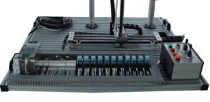 基于S7-200的全自动控制立体车库模型