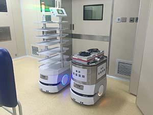 AGV医疗自动输送机器人