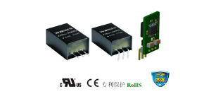 金升阳1A输出电流的非隔离K78-R3系列电源模块