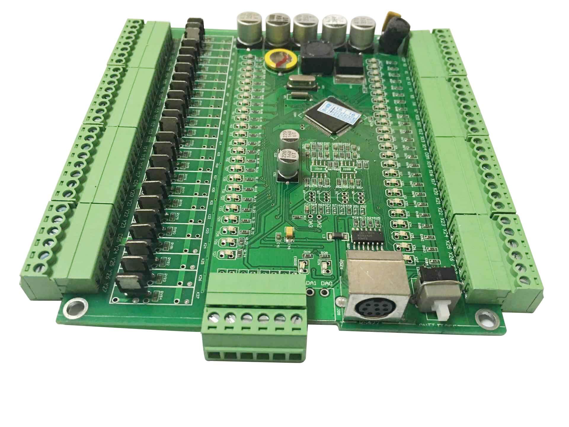 顾美 三菱FX2N-48MT的板式PLC DX2N-48MT