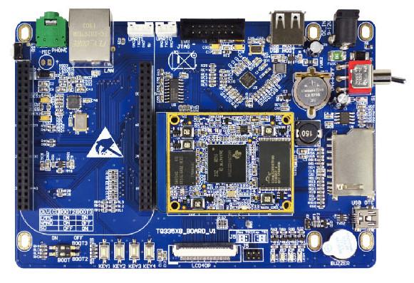 纯工业级TI AM335X工控板TQ_AM335X_B嵌入式开发板核心板