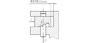 液压斜楔增力机构在数控刀架中的应用