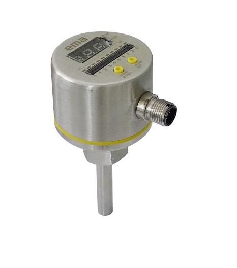 伊玛二合一功能的全不锈钢流动温度传感器