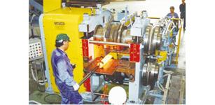 四方工控产品在辊锻机送料机械手上的应用