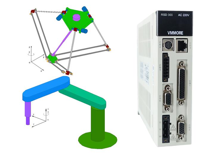 微秒 RSD300板滞人专用伺服体系