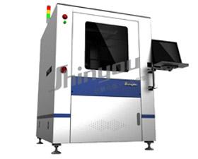 新友智能全自动在线式激光刻印机