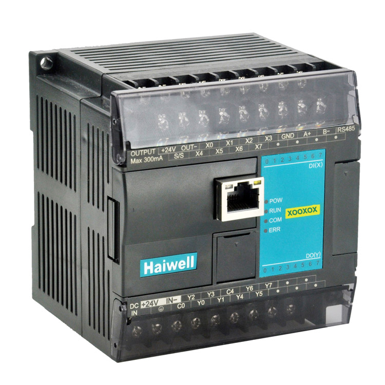 Haiwell海为PLC N16S2R-e运动控制性PLC主机