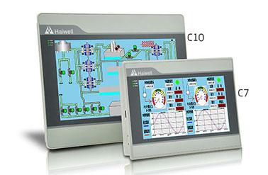 C7触摸屏-7寸海为以太网HMI