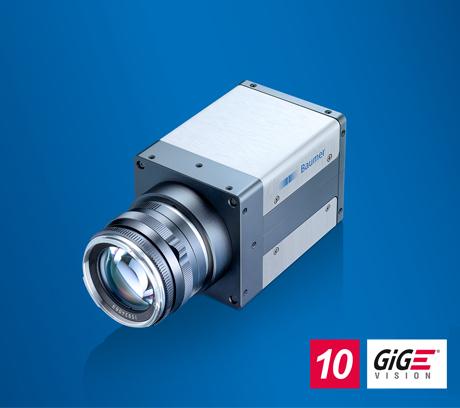 堡盟QX系列相机采用10GigE接口,1200万像素帧率高达335fps
