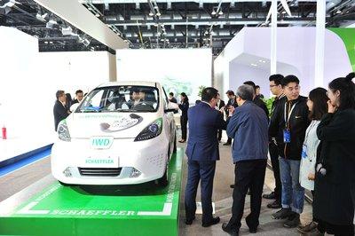 舍弗勒参加2017节能与新能源汽车成果展