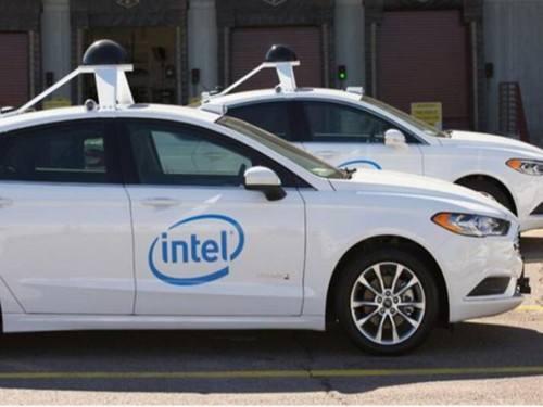 英特尔无人车新系统 避免意外事故发生