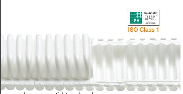e-skin®: 新型供能拖链,新尺寸,用于小 型安装空间