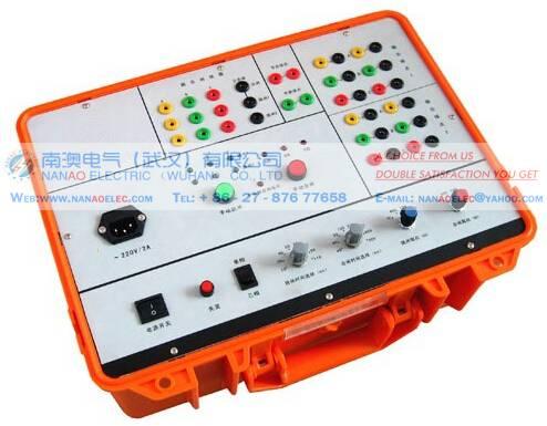 南澳电气NAMDQ双跳圈高压断路器模拟装置