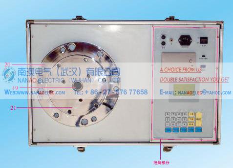 南澳电气NALC气体瓦丝继电器压力释放阀全自动测试装置