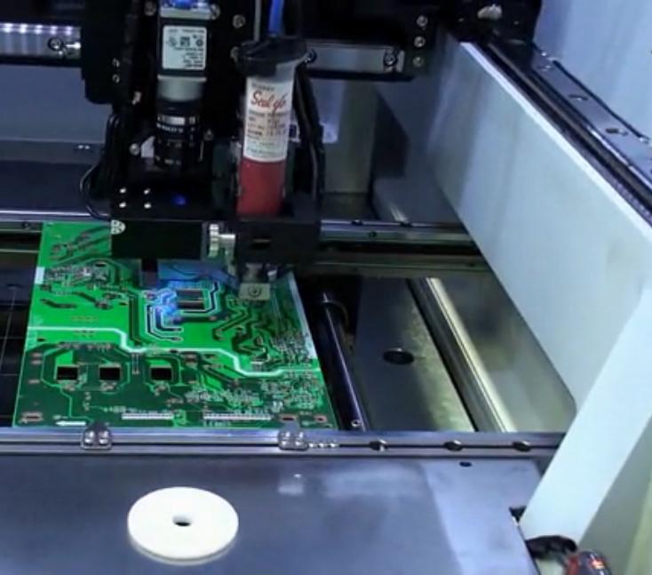 北京自动点胶机 深隆STT1007 自动点胶机 点胶机器人 汽车玻璃涂胶生产线