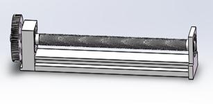 滚珠丝杠传动装置参数设计