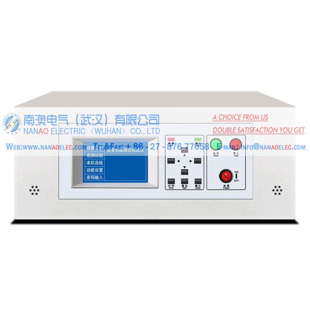 南澳电气NAYDT系列3C认证电器安规耐压试验仪