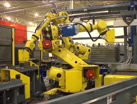 西克(SICK)机器人在容器内随机取放物体