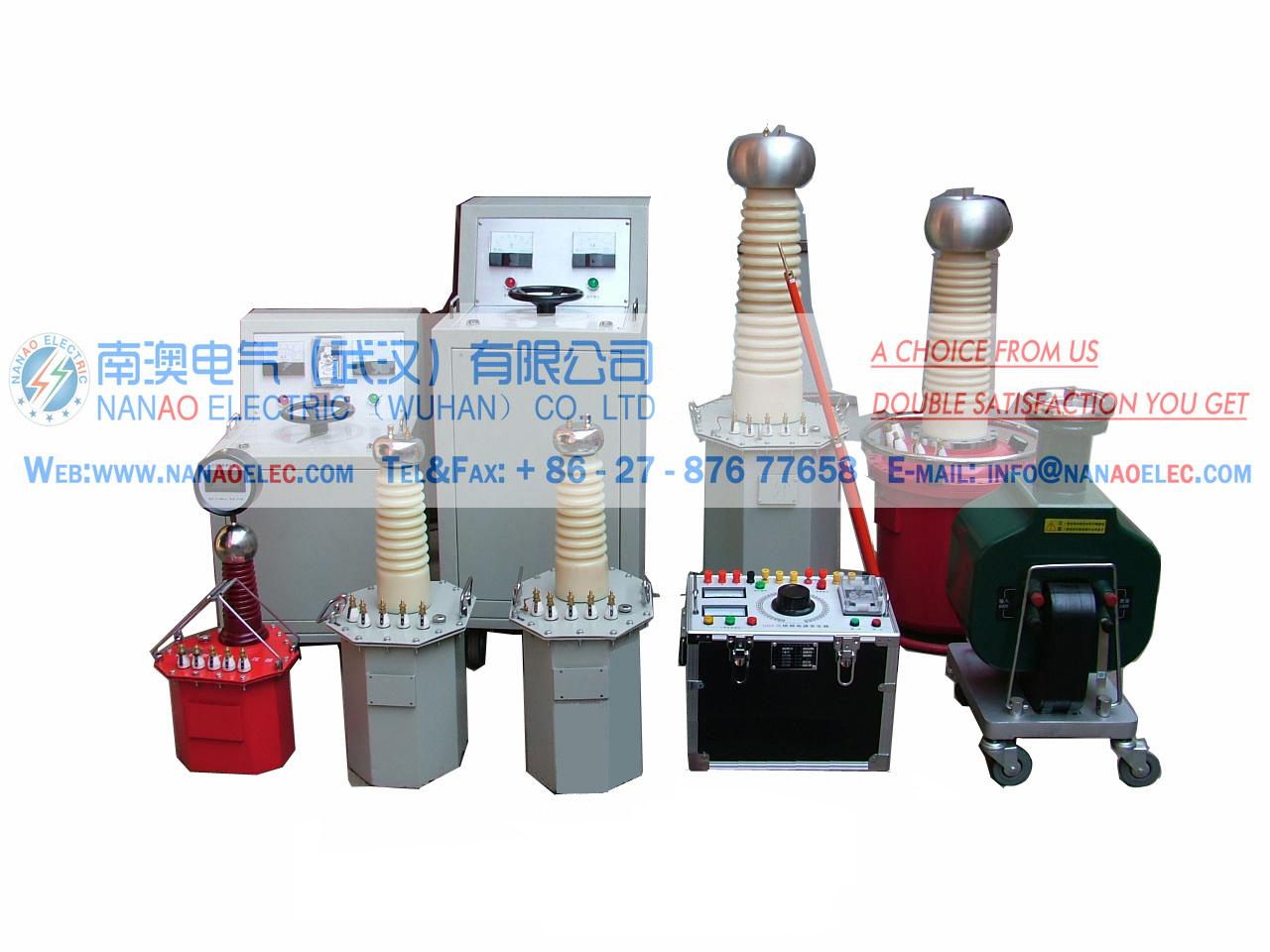 南澳电气NAGTB系列干式试验变压器