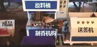 德瑞斯ES100系列变频器在制香机上应用